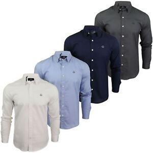 Para-hombres-camisa-de-manga-larga-por-Pato-Y-Cubierta-039-abedul-039