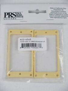 PRS Humbucking Pickup Rings For SE Guitars W// Tremolos NEW CREAM PLASTIC