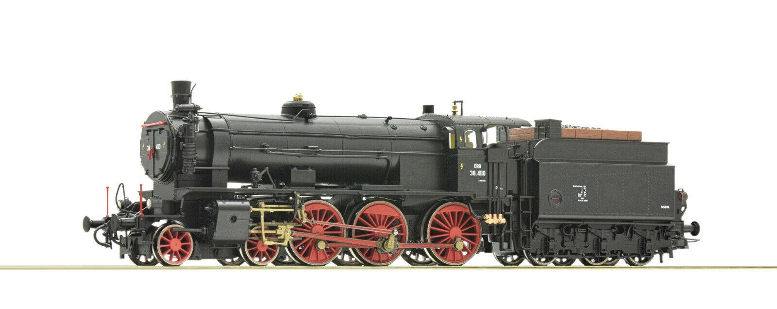 Roco 72125-vapor locomotora Rh 38, ÖBB, digital con sonido, LED beleucht, rara vez