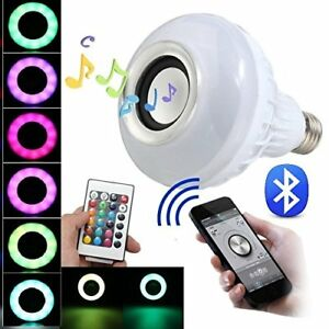 BFF-Products-Bluetooth-Speaker-Light-Bulb-Smart-LED-RGB-Color-Changing-Remote