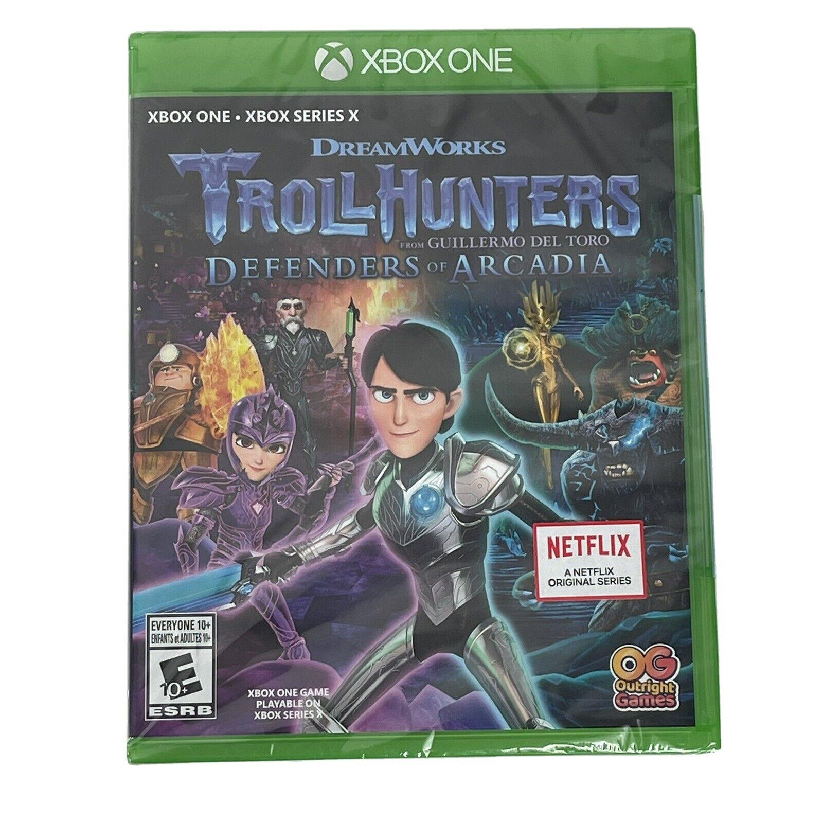 Dreamworks TrollHunters Defenders of Arcadia Xbox One Series X New Troll Hunters