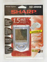 Sharp Wizard Organizer Oz-290h Ii In Package Factory Sealed