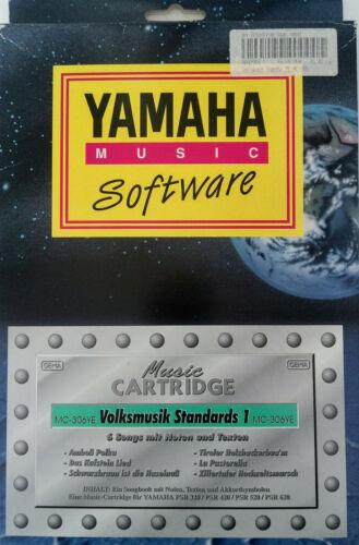 2904 YAMAHA Music Cartridge MC-306YE Volksmusik Standards 1 Nr