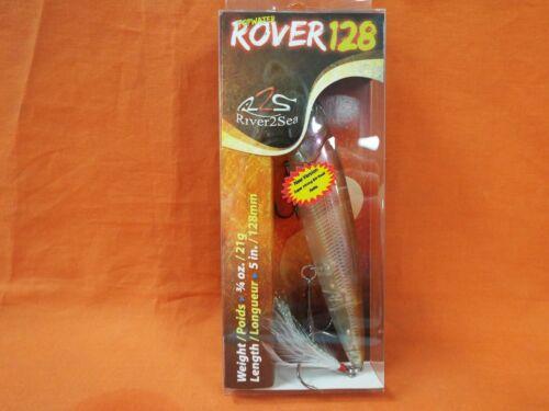 """RIVER2SEA Rover 128 7//16 oz #PO-Rr128//32-MULLET 3 7//8/"""""""