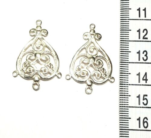 Sterling Silver Chandelier Earring SCE013