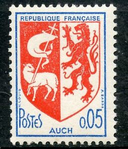 Timbre France Neuf Luxe ** N° 1468 ** Blason Stamp Auch