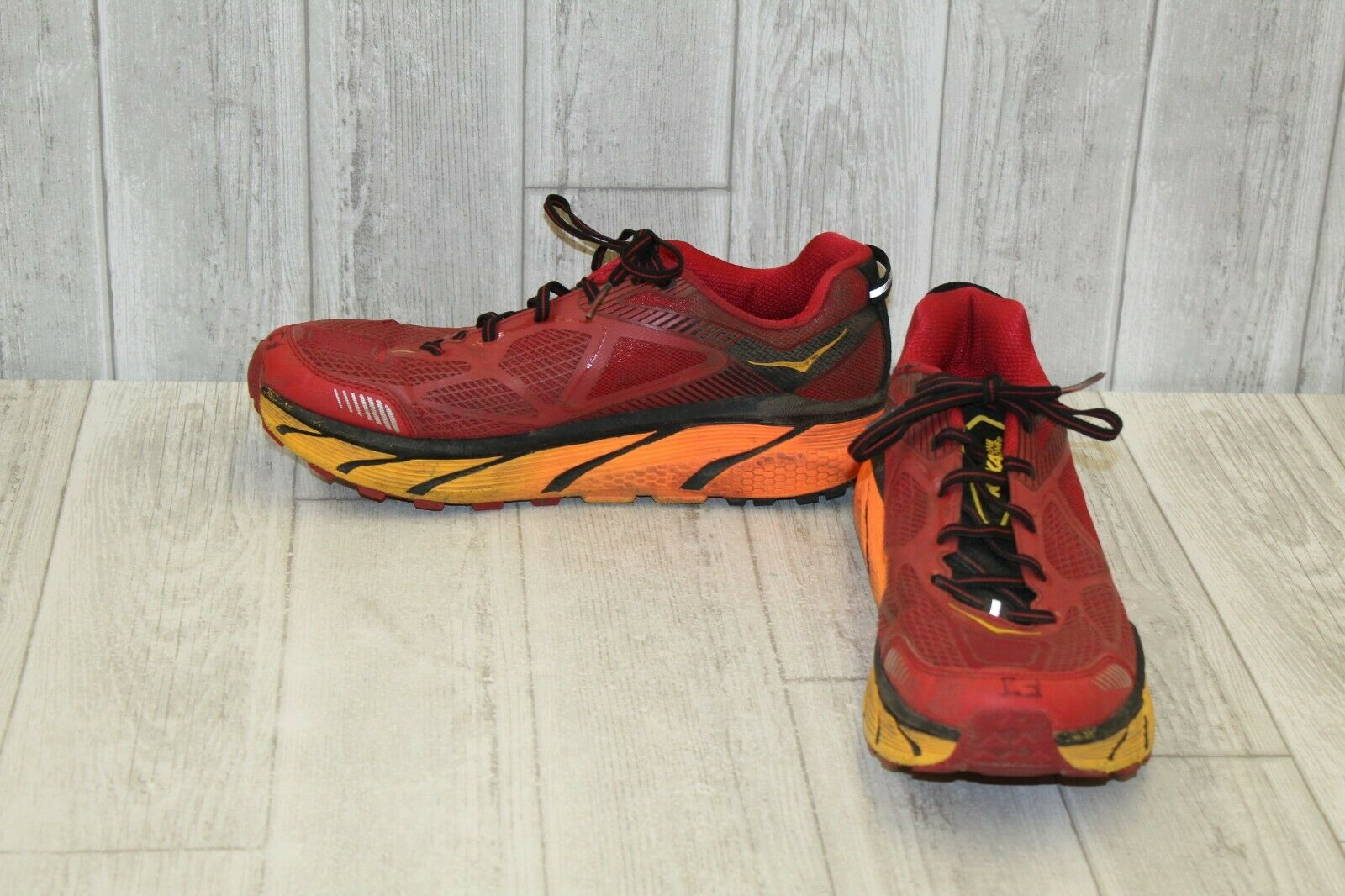 HOKA ONE ONE Challenger ATR 3 Running shoes - Red orange - Men's Size 11.5
