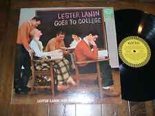 Lester Lanin Goes To College 1958 LP Epic LN 3474 Jazz 1st Pressing Mono VG+/EX