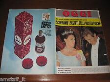 OGGI 1967/11=ISABELLA BIAGINI=ANTOINE=MICHAEL CAINE=IRA FURSTENBERG=DALIDA=