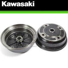 ATVPC Pair of Front Brake Drums for Kawasaki Mule 3000 3010 4000 4010 2x4 4x4