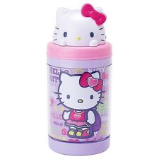 Sanrio Hello Kitty  Pop-Up Straw Water Bottle : Girly Sports Kitty