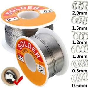 63//37 Rosin Core Solder Tin Lead Flux 2/% Soldering Iron Wire 0.5-2.0mm 50//100g