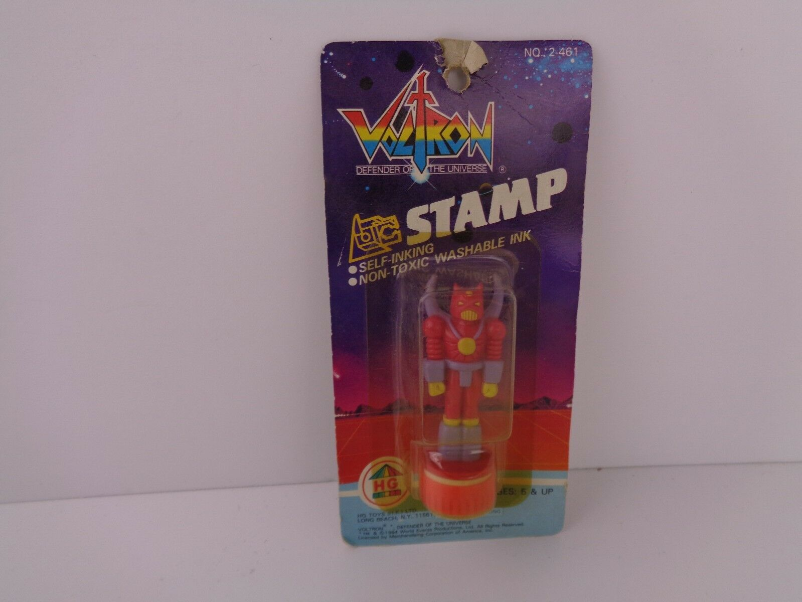 Vintage VOLTRON defenders of the universe Stamp