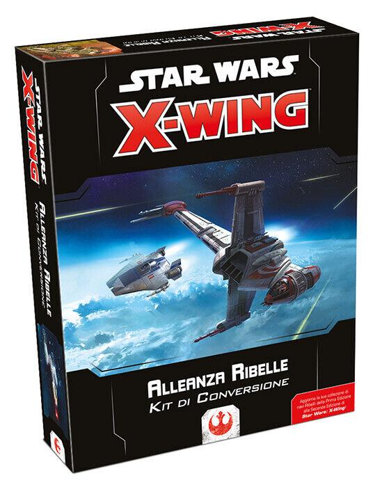 Estrella guerras X-Wing Kit di  Conversione tuttieanza Ribelle ASMODEE ITALIA  alta qualità e spedizione veloce