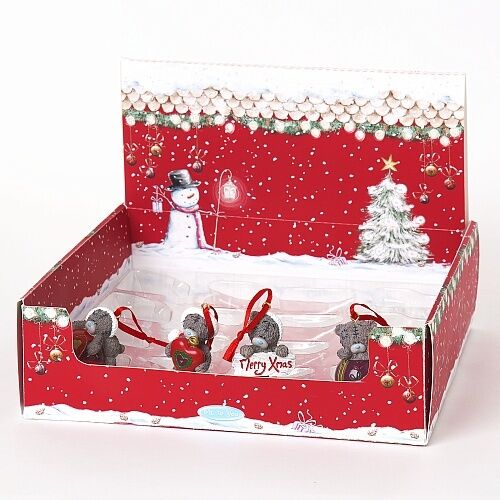 Me to You Tatty Teddy Christmas Tree Decorations Great Designs of Santa