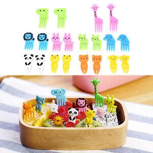 10pcs-Animal-Farm-cartoon-fruit-fork-signs-resin-fruits-toothpick-for-Kids-AlVCG