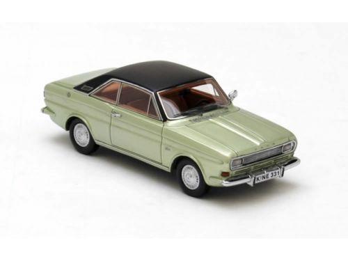 Ford Taunus P6 15M Coupe-verde se reunió 1968 1 43 Neo 43331