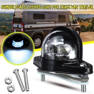 Camion-Remolque-6-LED-Lampara-Luz-Placa-Numero-De-Matricula-Reflector-Impermeable-12-24V