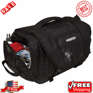 Spiderwire Wolf Tackle Bag, 4 large utility boxes included Adjustable