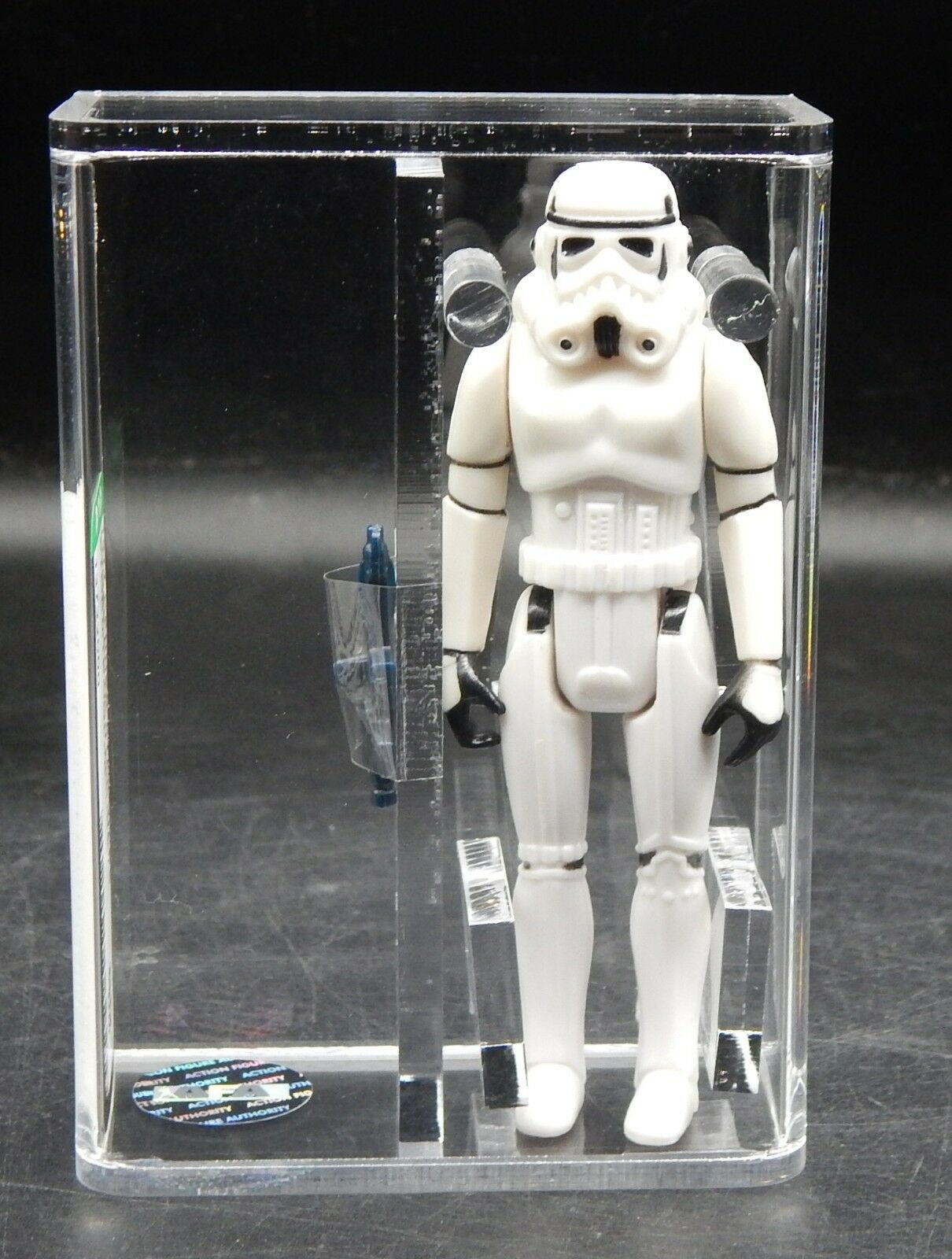 AFA 80+ Star Wars Imperial STORMTROOPER Kenner 1977 vintage action figure NO COO