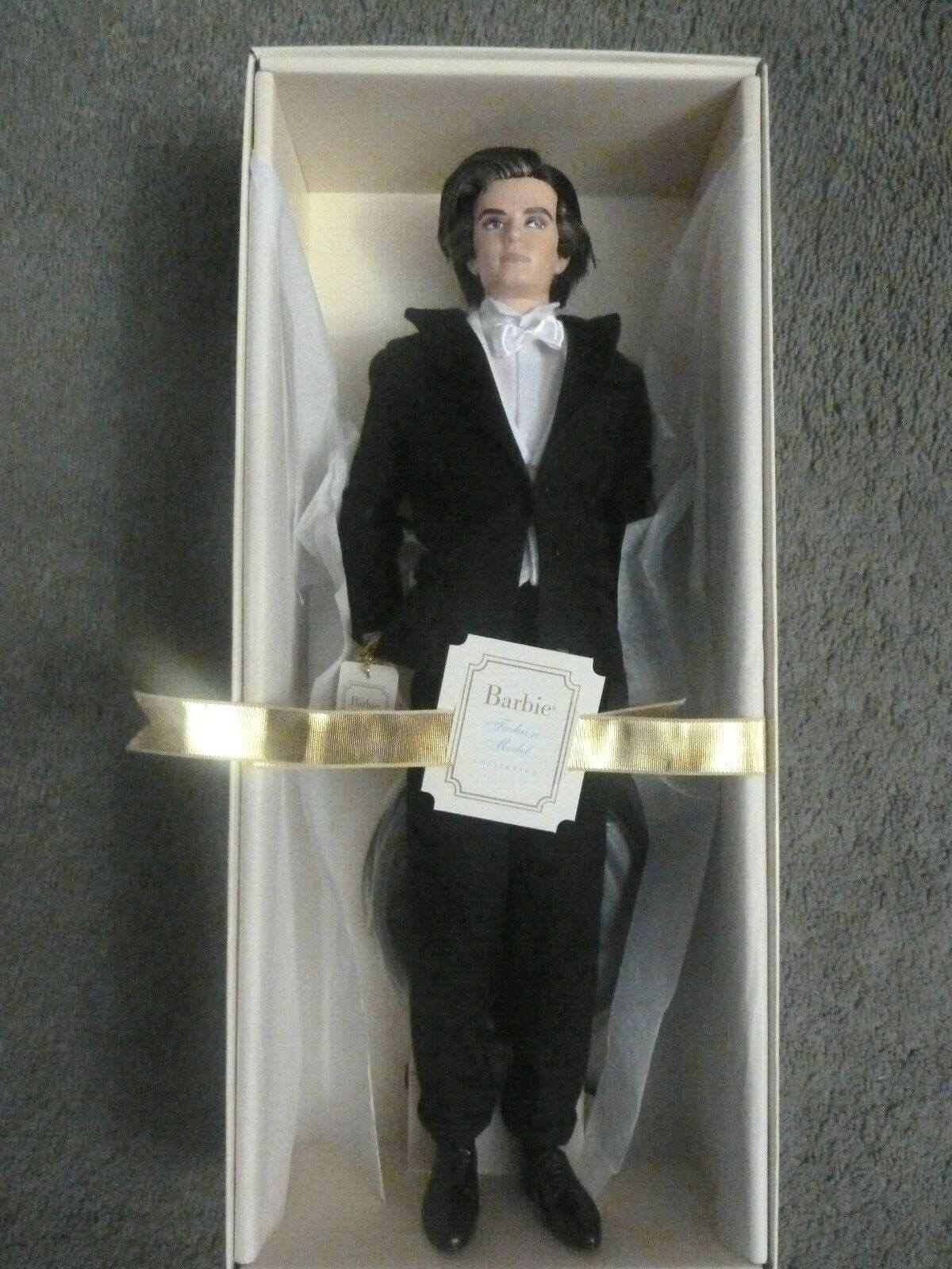 BARBIE KEN TUXEDO IN UNOPENED SHIPPER  WITH COA **********