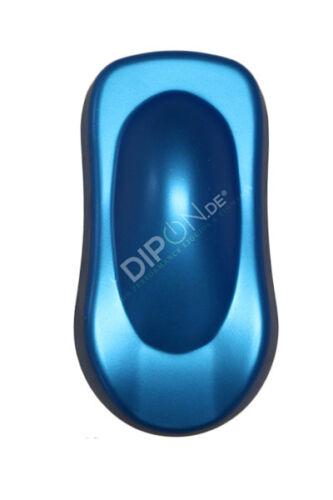 DIPON® Sazuka Blue Effektpigment Autolack Sprühfolie Pearl Nails Dip Kandy