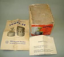 For Vintage Juwel 34 Camp Stove EMPTY Cardboard Box and Instruction