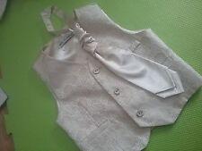 Boy 2-3 Años Boda/Bautizo, Cintura Abrigo & Corbata
