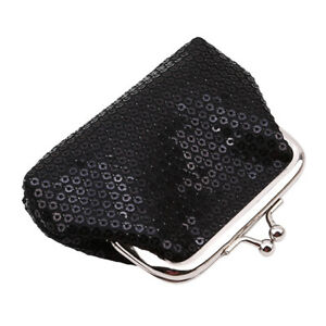 5bc962a80c Multi-Color Sequined Coin Key Holder Zip Wallet Pouch Change Bag ...