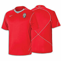 Nike Juventus FC  2008 - 2009 Soccer Training Jersey Brand New Red / Gray