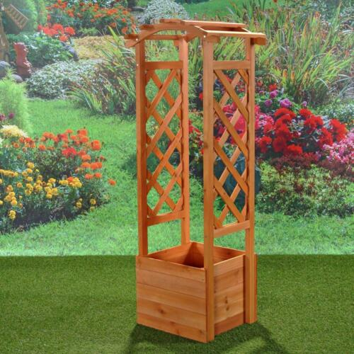 2er Set de tuteur jardin pflanzkasten avec arc de Rose Treille roses pilier pergola