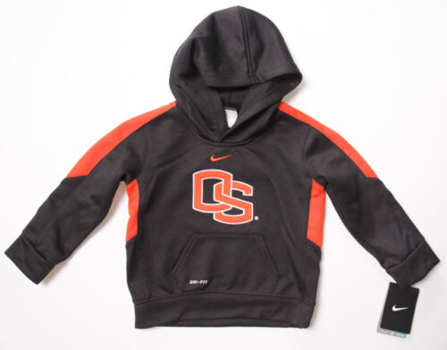 NWT Toddler Boy NIKE DRI-FIT Oregon State OSU BEAVERS FOOTBALL Sweatshirt Hoodie