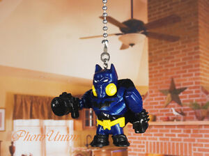 DC Batman Dark Knight Blue Suit Ceiling Fan Pull Light ...