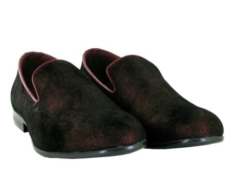 Brand New Men Shining Look Casual//Formal Slip On Shoes UK Size 7.5-12