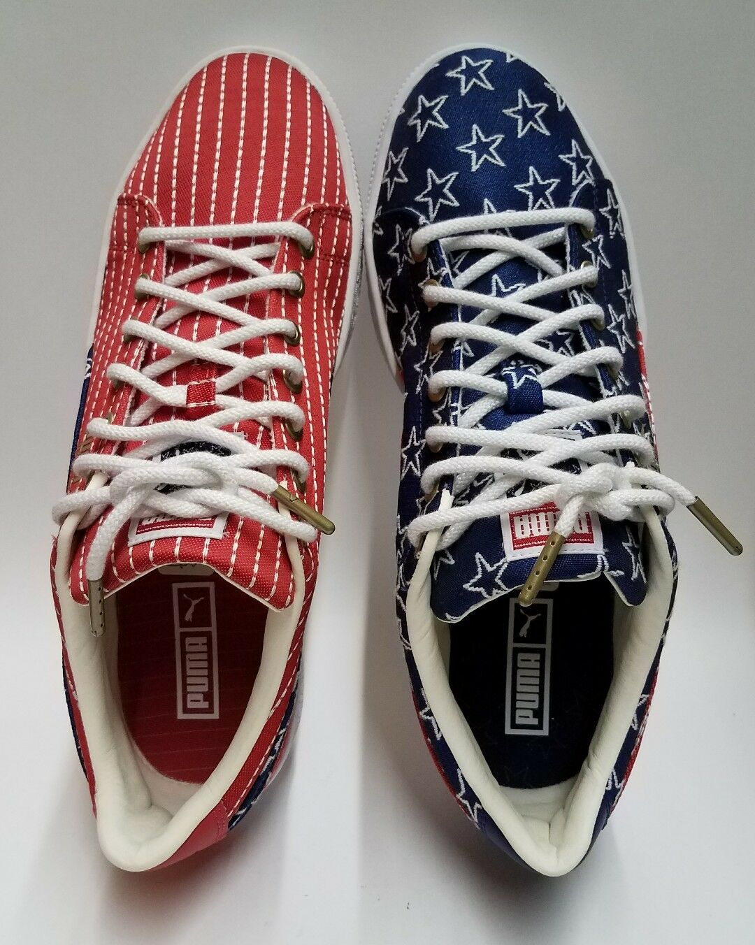 PUMA Basket Classic 4th of July Independence Day Stars Stripes Mens Size 9.5