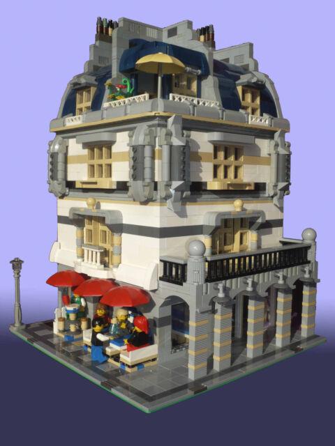 Lego Moc Custom Modular Rivoli Arcade Corner Left Instructions 10243