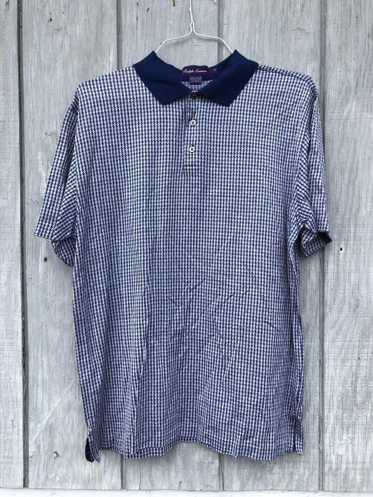 Ralph Lauren Purple Label Made In  Cotton Polo Shirt