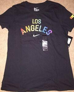 c996a155 New Nike #BETRUE Be True Shirt Tshirt Tee Womens Los Angeles Rainbow ...
