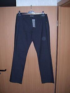 d1b1dadf34e9 Das Bild wird geladen zero-base-Damen -Business-Hose-Stoffhose-schwarz-anthrazith-