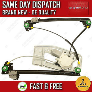 BMW 5 SERIES E39 1995>2004 FRONT RIGHT SIDE WINDOW REGULATOR WITH 2 PIN MOTOR