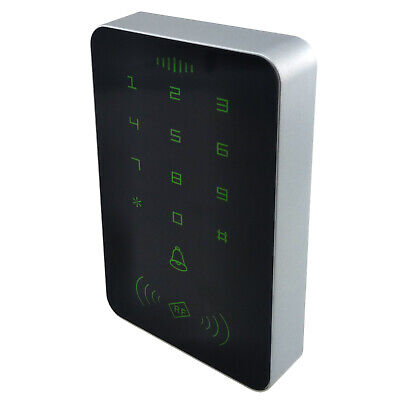 125Khz//ID Door Access Control ID//IC Card Reader Wiegand Interface Standalone Keypad for Home Office Entry Security System Password RFID Access Control Keypad 13.56Mhz//IC ID