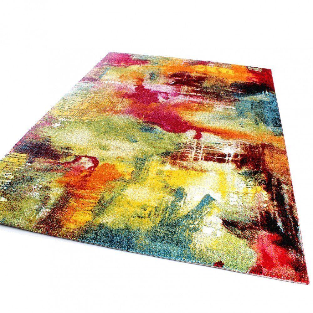 Designer Rug Rug Rug Oil Painting Style Modern Multicolourot Mottled Living Room Carpet 8d8538