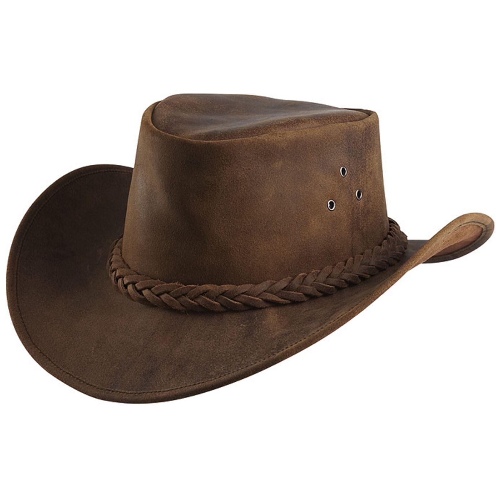 Randol's Antiqued Western Hat Brown
