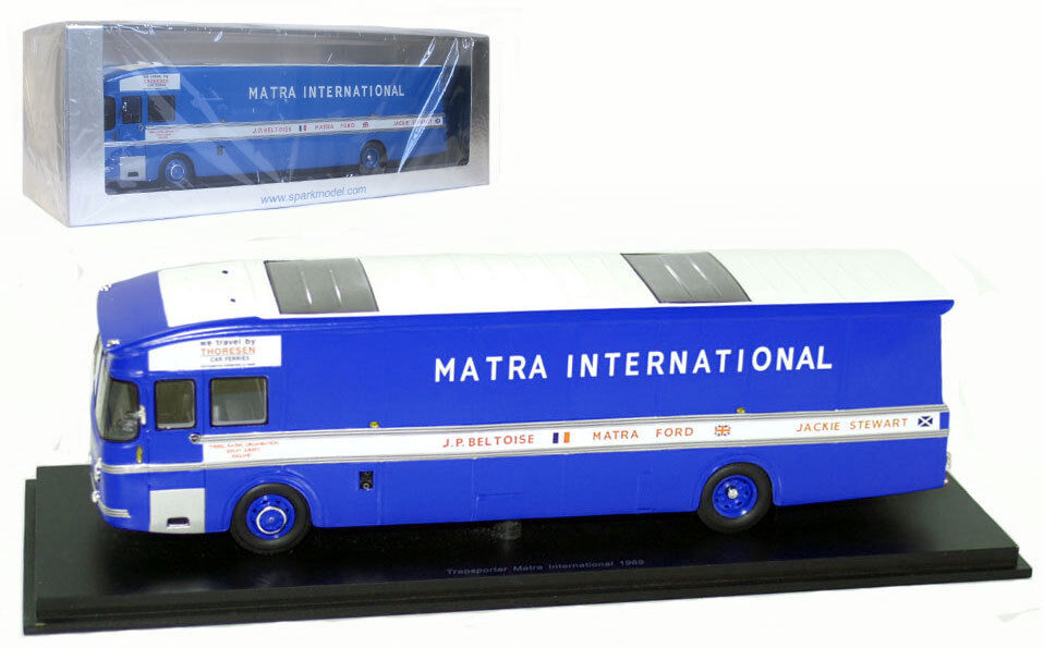 Spark S1599 Matra International F1 Team Transporter 1969 - 1 43 Scale
