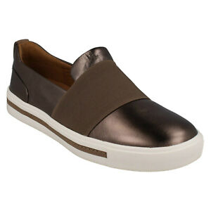 8472a05c00ff LADIES CLARKS UN MAUI STEP UNSTRUCTURED CASUAL SLIP ON LIGHTWEIGHT ...