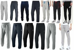 Mens-NIKE-Fleece-Joggers-Tracksuit-Jogging-Bottoms-Sweat-Pants-Track-S-M-L-XL
