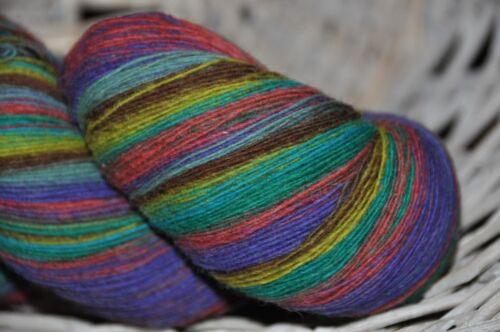 100/% lana virgen pañuelos lana lana de oveja lana Lace soga Garn mano teñidos 872 *