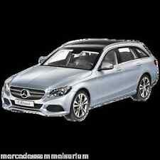 Mercedes benz s 205 C clase/C class T modelo/Estate Avantgarde plata 1:18 nuevo