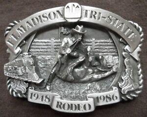 1986 Tri State Rodeo Ft Madison Iowa Calf Roping Siskiyou