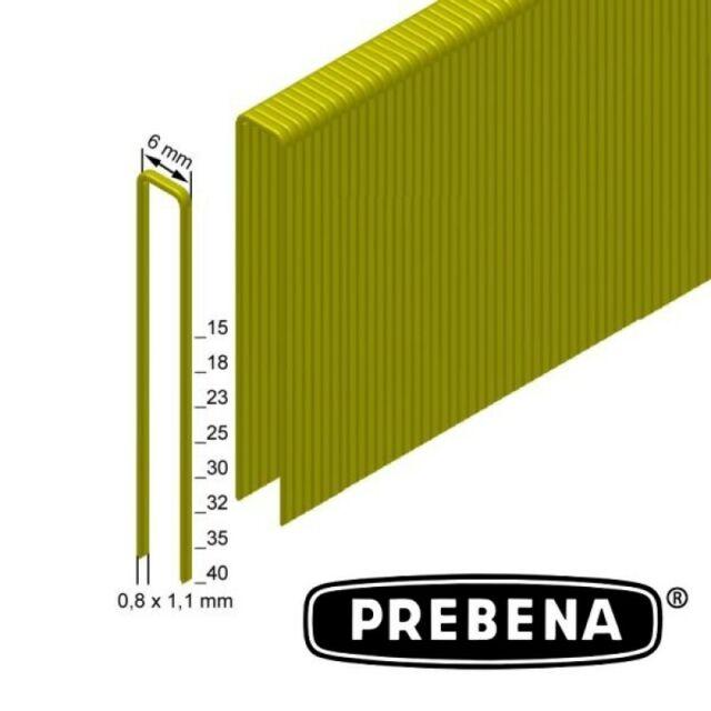 PREBENA HEFTKLAMMER ES-30CNKHA, 30MM VERZINKT 4000 Stk. pro Schachtel